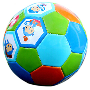 费雪小皮球儿童足球加厚宝宝皮球训练球幼儿园足球玩具球 3-6岁宝宝户外运动