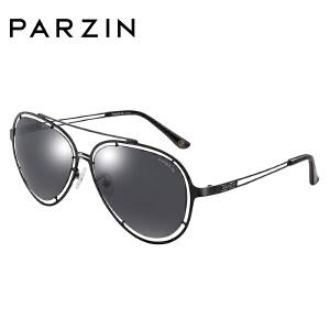 帕森偏光太阳眼镜 男女款镂空镜框蛤蟆镜潮墨镜驾驶镜8106