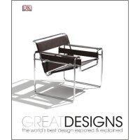 现货 英文原版 Great Designs 大设计 DK系列 精装 全彩 设计师