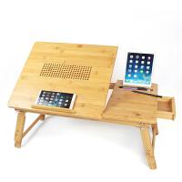 散热笔记本电脑做桌床上用可折叠升降小书桌子大学生宿舍写字桌