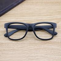 201808250422481082018新品新款复古黑框眼镜框男女韩版无镜片大框眼镜架框架潮人平光镜