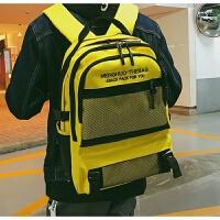 日系原宿风书包 韩国ins高中学生街拍多层次大容量双肩包男女背包