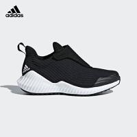 阿迪达斯(adidas)童鞋新品男女中小童网面训练鞋轻便休闲运动鞋AH2627 黑色