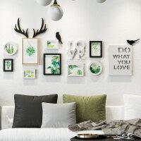 照片墙装饰客厅相片墙悬挂北欧背景墙创意个性相框挂墙组合连体挂p