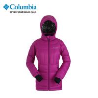 Columbia哥伦比亚户外女款防水加厚连帽羽绒服PL5033