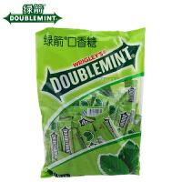 箭牌 绿箭口香糖 薄荷味 300g 袋装 休闲糖果