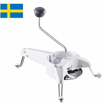 【当当海外购】瑞典进口Orthex 创意UF?多功能擦丝切片器绞肉刨刀碎冰研磨器厨房多功能料理器-附4把圆刀北欧设计,瑞典制造,拉风的厨房创意小帮手