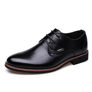 宜驰 EGCHI 皮鞋子男士商务休闲时尚耐磨皮鞋子男 8096