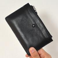 薄迷你小小方可爱韩国钥匙卡包二合一硬币短款公交卡包新品女零钱包袋