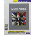 Linear Algebra and Its Applications, Books a la Carte Editi