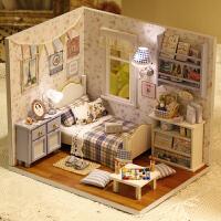 diy小屋 阳光系列 手工拼装房子模型 生日女生 圣诞节礼物