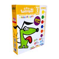 逻辑狗幼儿网络版第一阶段3-4岁带板全套逻辑思维训练玩教具