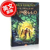 现货 阿波罗的审判:燃烧的迷宫 第三卷 3 英文原版 Trials of Apollo Book Three The