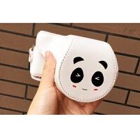 熊猫可爱微单相机包相机套皮套适用于索尼a6000 a5100 a5000 a6300世帆家SN