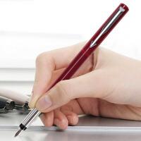PARKER 派克 威雅红色胶杆墨水笔/钢笔