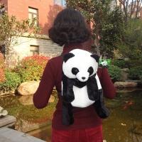 熊猫儿童背包双肩包幼儿小书包宝宝毛绒玩偶卡通生日礼物可爱玩具
