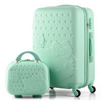 可爱行李箱女拉杆箱儿童旅行箱韩版皮箱24寸学生密码箱卡通母箱 母箱