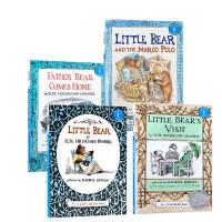 little bear 小熊6本套装汪培�E书单第二阶段推荐儿童书单3-6岁Little Bear s friend Little Bear s visit  送音频