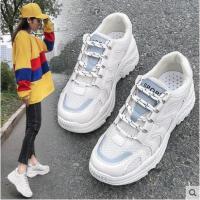 新款韩版网红女鞋运动鞋女ins潮智熏超火小白鞋子百搭老爹鞋