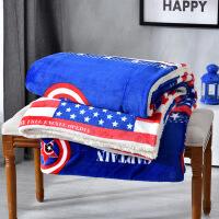 君别冬季毯子被子毛毯加厚垫床单珊瑚绒午睡空调毯毛巾被单人冬用