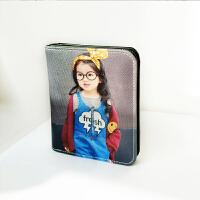 新款小钱包女短款韩版学生两折零钱包迷你折叠卡包简约女士搭扣多功能