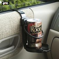日本YAC汽车门边挂式饮料架烟灰缸置物支架车载门侧水杯座茶杯架