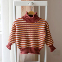 小女童毛衣加绒加厚1-3岁2017年季女宝宝加绒毛衣小儿童打底衫