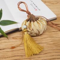 中国风刺绣香包艾草香囊薰衣草随身香袋空袋古风荷包 富贵金 迷迭香 礼盒