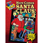 3-D Coloring Book--Here Comes Santa Claus!