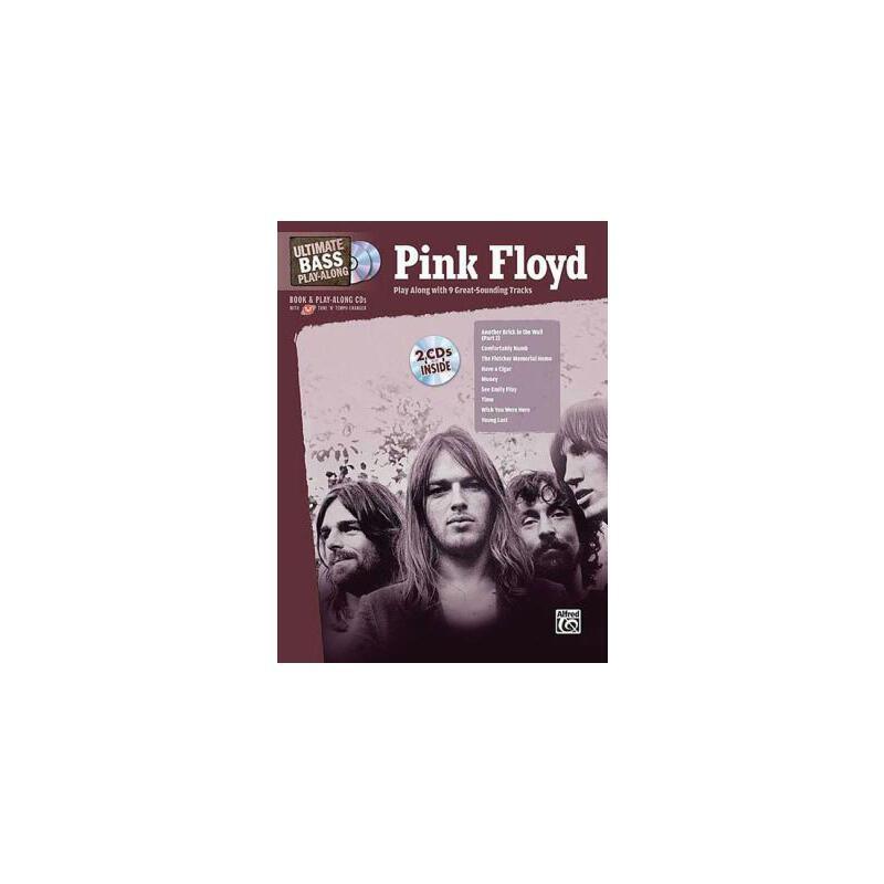 【预订】Pink Floyd: Ultimate Bass Play-Along 美国库房发货,通常付款后3-5周到货!