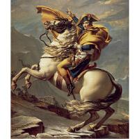 1000片木质拼图500 世界名画油画 拿破仑翻越圣贝尔纳山