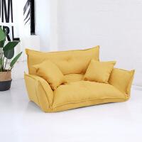 沙发床 布艺懒人沙发榻榻米小户型卧室小沙发双人日式多功能折叠沙发床
