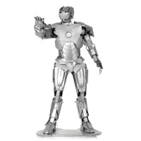 金属拼图 DIY拼装模型 3D立体IRON MAN 钢铁侠