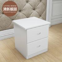 床头柜 实木收纳柜 储物柜 创意松木小柜子床边柜电话桌 组装
