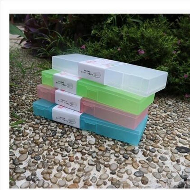 小贝壳笔盒 学生透明塑料文具盒 本味笔盒笔盒