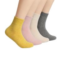 网易严选 女式美丽诺羊毛混纺中筒袜