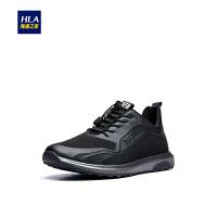 HLA/海澜之家时尚拼接休闲鞋2018秋季新品舒适运动男鞋