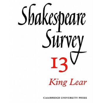 【预订】Shakespeare Survey 9780521523493 美国库房发货,通常付款后3-5周到货!