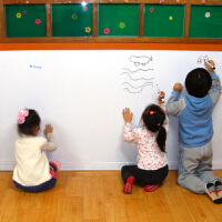 斯图牌 白板贴 45*200cm 教学用白板贴纸 涂鸦板墙贴 送笔/擦