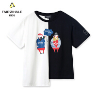 【2件3折折后到手价77.4】马克华菲童装男童短袖T恤2019夏新款纯棉上衣儿童韩版洋气上衣潮