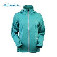 Columbia哥伦比亚秋冬户外女单层冲锋衣防水透气夹克外套PL2407