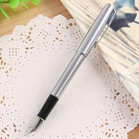 英雄钢笔5020全钢笔杆办公练字铱金钢笔不掉漆学生练字笔送墨水0.7mm