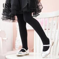 OSA欧莎2018春装新款童装 弹力舒适 连裤袜子 女童318A87001