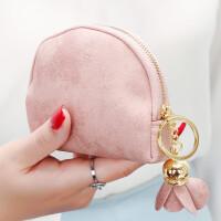 ?零钱包女迷你可爱韩国版小方包钱包简约个性卡包钥匙包?