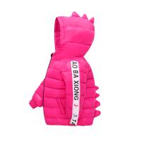 新款儿童羽绒服男女童加厚款宝宝装连帽外套小孩中小童短款棉衣