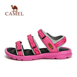 camel骆驼户外女款沙滩凉鞋 减震舒适休闲女式沙滩鞋