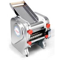 俊媳妇 电动面条机FK160压面机家用不锈钢自动压面条机擀面皮饺子皮机