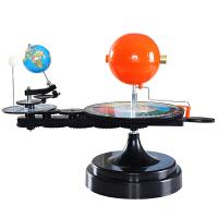 三球�x太�月亮地球教具模�M��夜手��W生用教�W�x器 模型公自�D演示月相�化�P系�和��M�b玩具DIY三球�\行�x