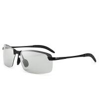 2018082720599632018新款日夜两用变色眼镜驾驶太阳镜男眼睛司机开车钓鱼潮人男士墨镜