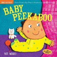 【现货】英文原版 Indestructibles: Baby Peekaboo 宝宝 躲猫猫 婴儿无毒可咬绘本 小开本